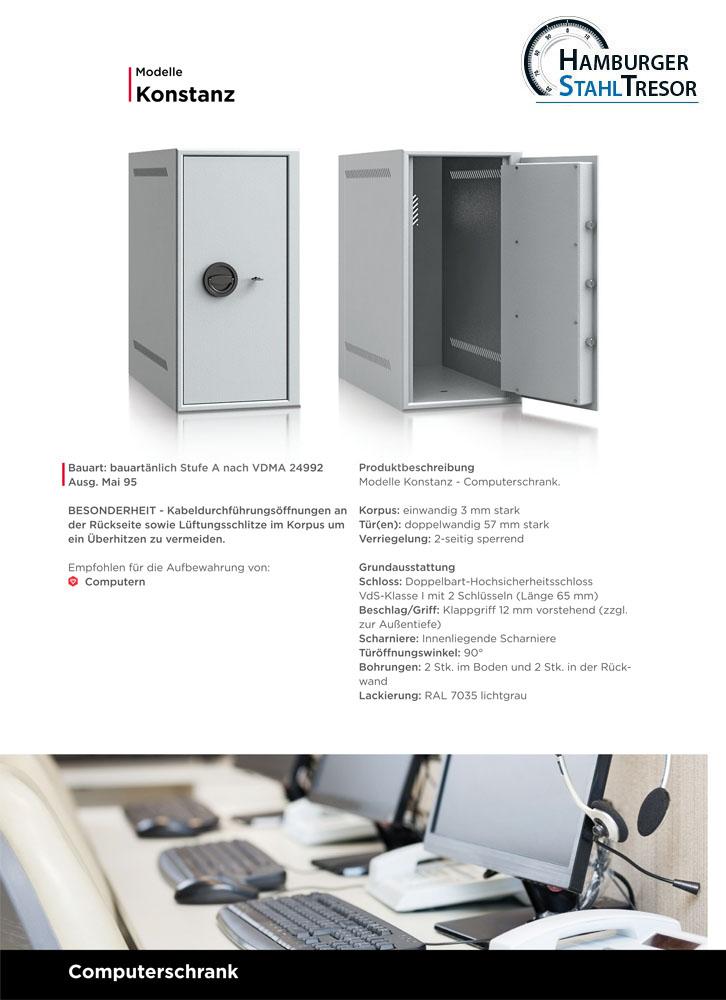 Computerschränke/Computertresore - Prospekt 1