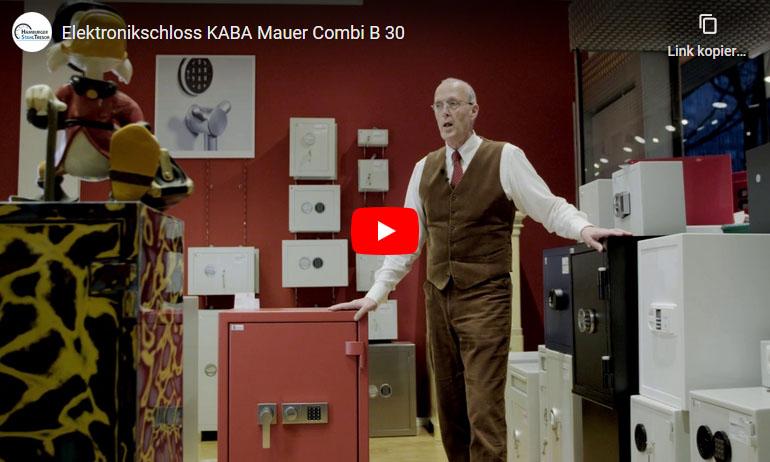 Video zum Elektronikschloss KABA Mauer Combi B 30