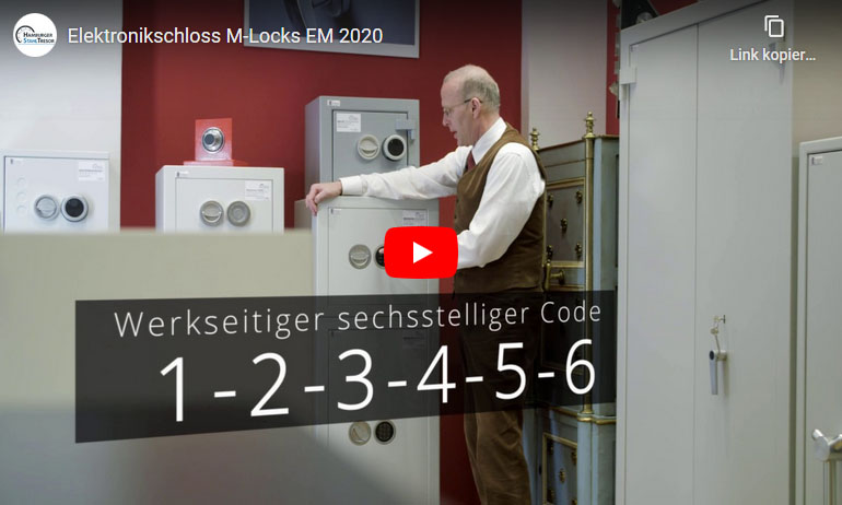 Video zum Elektronikschloss M-Locks EM 2020