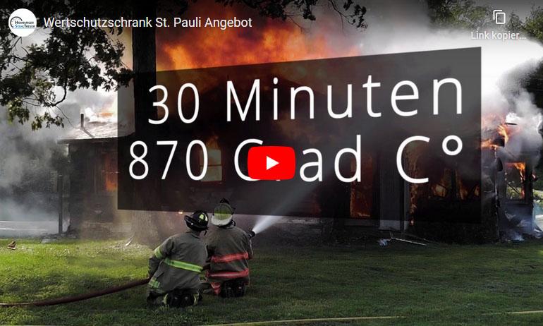 Video zum Wertschutzschrank Modell St. Pauli