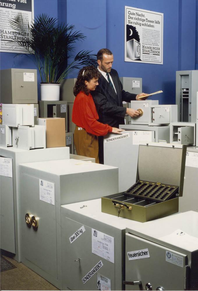 Michaela und Thies Hartmann im Jahre 1985