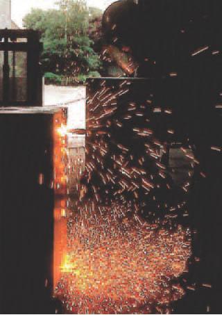 Der Tresor-Test mit einem Schweißbrenner